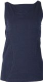 Asquith London Yogakleding - Boatneck Top met BH - Donkerblauw.jpg