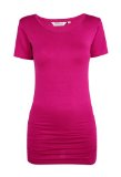 Asquith London Yogakleding - Top met korte mouw - Fuchsia.jpg